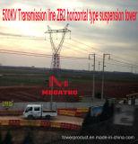 Riga di trasmissione di Megatro 500kv tipo orizzontale torretta di Zb2 della sospensione