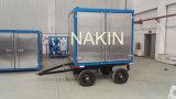 Zym-30 tipo móvel máquina da purificação de petróleo do transformador, petróleo que recicl o equipamento