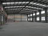 Estructura de acero para el edificio industrial