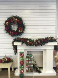 装飾およびDecoの前Litのクリスマスのセンターピース(フルレンジ)
