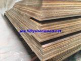 Base de la madera dura del pegamento de WBP 21 capas madera contrachapada del suelo del carro y del envase