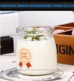 Милая бутылка студня молока югурта пудинга Cruets десерта стеклянная
