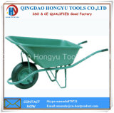 Plastic Tray Wheel Barrow with (WB - 6404S) Pneumatic Wheel