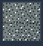 光沢のある煉瓦デザインガラス石造りのモザイク