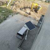 Bluesmart 운동 측정기를 가진 태양 에너지 저축 LED 가로등 정원 램프