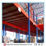 Мансарда стальной структуры хранения пакгауза стойки индикации