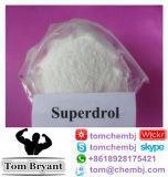 Steroid (Superdrol) Ruwe Poeder Methyldrostanolone 99.36% van de hoge Zuiverheid