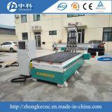 Atc neumático de los ejes de rotación de madera del corte 4 que talla la máquina