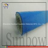 HochtemperaturFiresleeve silikonumhüllte umsponnene Faser-Glas-Hülse