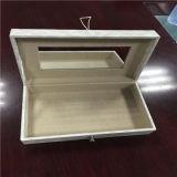 Ретро коробка ювелирных изделий кожи Faux типа и способа