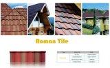 Mattonelle di tetto rivestite del metallo della pietra calda di vendita/strato di alluminio del tetto