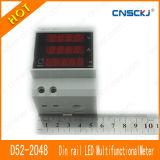 [د52-2048] [أك200-450ف] [أك0-100.0ا] [لكد] [ديجتيل] متعدّد عدّاد فلطمتر أمّيتر
