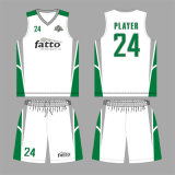 Basket-ball sec frais Jersey de tissu pour le club de Fatto