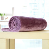 Cobertor contínuo pequeno da flanela do cobertor do poliéster (SR-B170316-35)