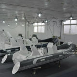 Liya 5.2m PVC/Hypalonの膨脹可能なボートモーター肋骨のボートの販売