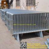 Barreiras galvanizadas do controle de multidão/barreiras controle de multidão