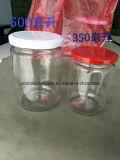 опарник 5PCS стеклянный Roud, стеклянные опарникы варенья