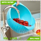 21野菜の洗面器の洗浄米のふるいのデザート用深皿の果物かごの台所小道具