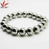 Htb007A silberner Hämatit-Charme-magnetisches Armband für Förderung-Geschenke