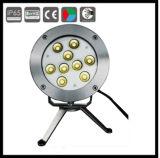 24V 316 /304 스테인리스 LED IP68는 수영풀 빛을 방수 처리한다
