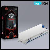 Вертикальная стойка охлаждающего вентилятора для пульта PS4 с полкой дисков заряжателя регулятора