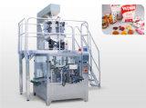 Automatischer Fastfood- Reißverschluss-Beutel-füllende Verpackungsmaschine für Körnchen