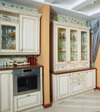 Cozinha americana da madeira contínua de Pólo (zq-004)