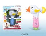 Anel plástico do bebê dos desenhos animados do brinquedo com música (1061226)