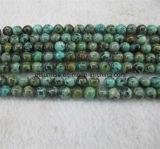 Sfera africana di cristallo naturale del branello del turchese della pietra semi preziosa