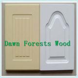 PVCフィルムが付いている高品質MDFの食器棚のドア