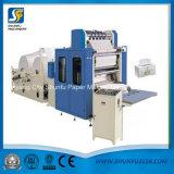 Abschminktuch-Papier geprägte Ausschnitt-Maschine für die Herstellung des Gewebe-Gesichtsbehandlung-Papiers