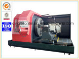 Tornio orizzontale di CNC di alta qualità con lo schermo pieno del metallo per la muffa del pneumatico (CK61100)