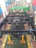 Cargo grande modificado para requisitos particulares Trike del color verde del policía motorizado especial del diesel 3 para limpio