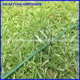Гальванизированный квадратный штапель травы штапеля SOD ногтя дерновины формы верхней части u с плоским пунктом