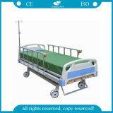 AGBMS001b新しいデザイン5機能手動病院用ベッド(AG-BMS001B)