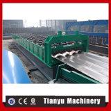 Rolo hidráulico da folha do painel do barramento ou do carro da instalação que dá forma à máquina