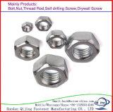 Noix de tête Hex de l'acier inoxydable DIN934 avec le prix bas de qualité
