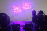 свет влияния этапа лазера 3000MW RGB цветастый
