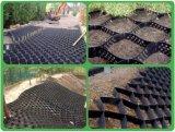 HDPE Geocell機械斜面の保護Geocellの突き出るラインシート装置を作り出す