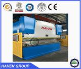 Máquina de dobra hidráulica do CNC da placa de metal, máquina de dobra do metal de folha (WC67K)