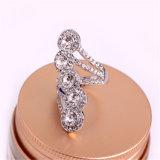 Het Kristal van de Juwelen van het lot van Ring Swarovski glanst Ring
