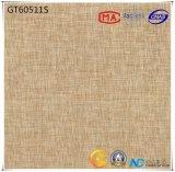 absorption gris-clair en céramique de matériau de la construction 600X600 plus moins de 0.5% carrelage (GT60510+60511) avec ISO9001 et ISO14000