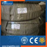 Tubulação de mangueira de borracha hidráulica resistente de alta temperatura flexível do petróleo de Kingdaflex do fabricante de China