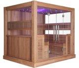 Pode ser o quarto seco personalizado da sauna do calefator de Harvia do lazer e da saúde (M-6046)