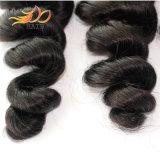 Het natuurlijke Zwarte Vietnamese Maagdelijke Haar van Dyeable van de Golf van het Haar Losse