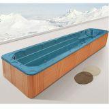 12 de Hete Ton Freestanding OpenluchtFiberglass Big Swim SPA van de persoon (m-3326)