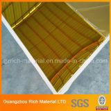 strato acrilico dello specchio dello strato di plastica dorato dello specchio di 2mm