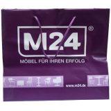 Sacchetti impaccanti di acquisto stampati abitudine riutilizzabile dell'HDPE per gli indumenti (FLS-8205)
