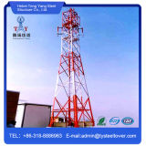 자활하는 각 강철 원거리 통신 탑