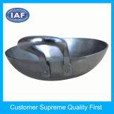 鍋の高い専門の金属部分を押すこと
